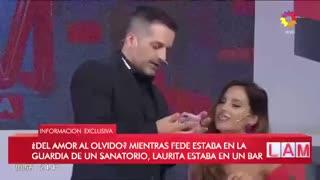 Lourdes Sanchéz enojó a Tinelli