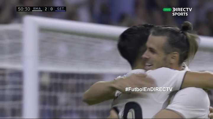 Los goles Del Real Madrid en la victoria ante Getafe
