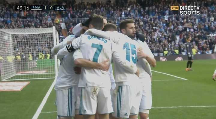 Alavés 0 - Real Madrid 1