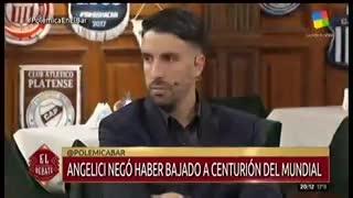 Flavio Azzaro mandó al frente a Daniel Angelici.