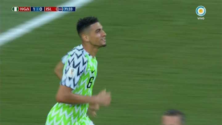 Nigeria 1 - Islandia 0. El cabezazo de Nigeria pasó cerca -Mundial Rusia 2018