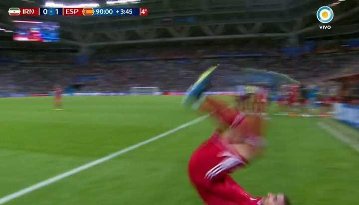 El lateral fallido de Mohammadi - Mundial Rusia 2018