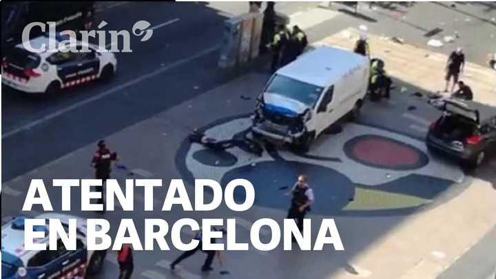 Homenajes en Barcelona a un año de los atentados del 17 de agosto en las Ramblas