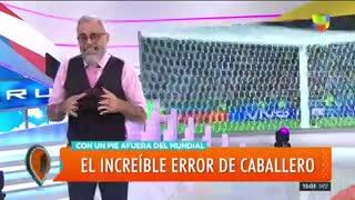Jorge Rial cuestionó a los periodistas que velaron a la selección