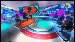 "Moria Casán reemplazó a Jorge Rial en ""Intrusos""."