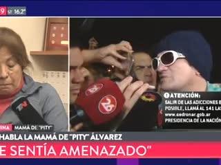 """""""Mi hijo no es un asesino"""", afirmó la madre de """"Pity"""" Alvarez."""