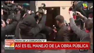 La agresión de la periodista a Cristina
