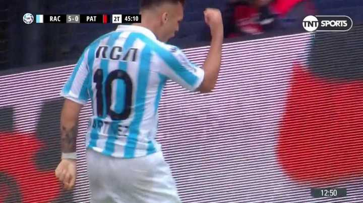 Racing 5 - Patronato 0
