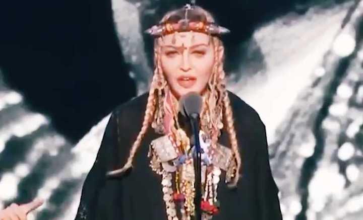 Discurso de Madonna en homenaje a Aretha Franklin