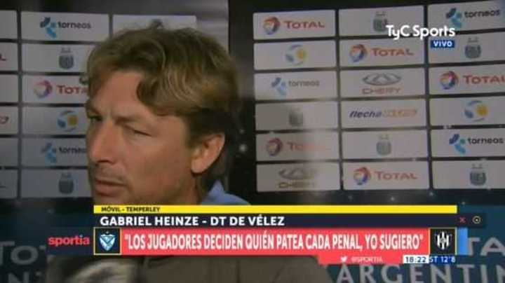 Heinze se enojó con un periodista y le respondió con todo