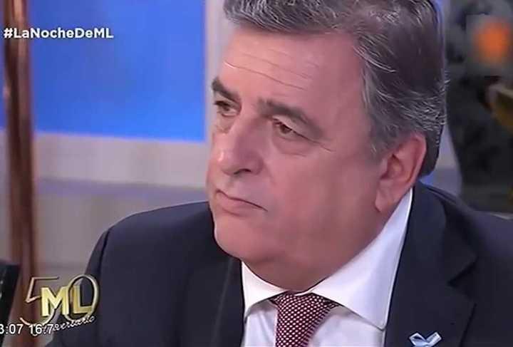 El tenso momento de Mario Negri en la mesa de Mirtha Legrand