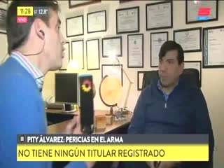 "Claudio Calabresi, abogado de la familia de ""Pity"" Álvarez."