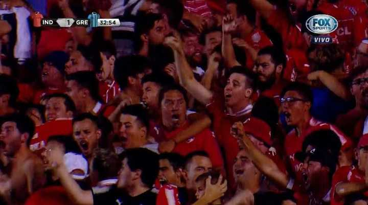 Independiente 1 - Gremio 1