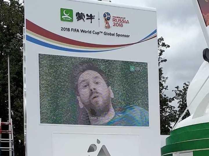 La curiosidad que protagoniza Messi con una de sus marcas, que también sponsorea a la FIFA.