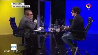 """Entrevista inédita de Lanata a Pity Álvarez: """"Me asusta no morirme"""""""