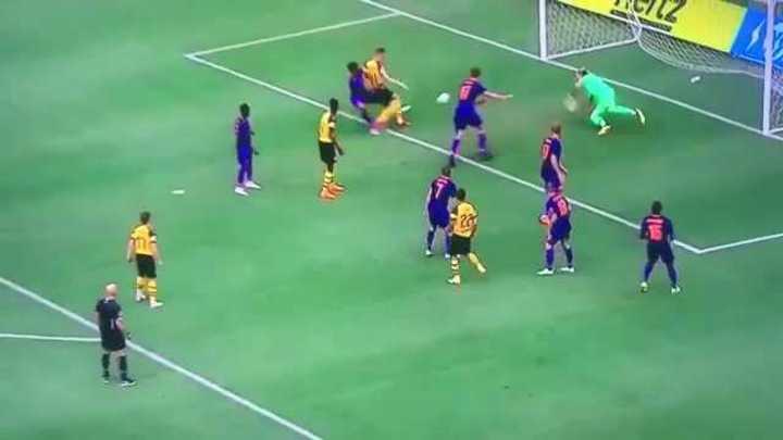 Karius y una pobre respuesta que terminó en gol