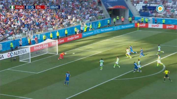 Nigeria 0 - Islandia 0. Islandia quiere el gol - Mundial Rusia 2018