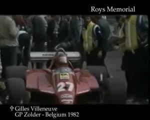 El accidente que se cobró la vida de Villeneuve.