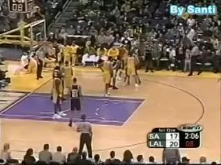 El debut de Manu Ginóbili en la NBA