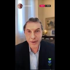 Freddy Villarreal y su divertida imitación de Mauricio Macri en Instagram