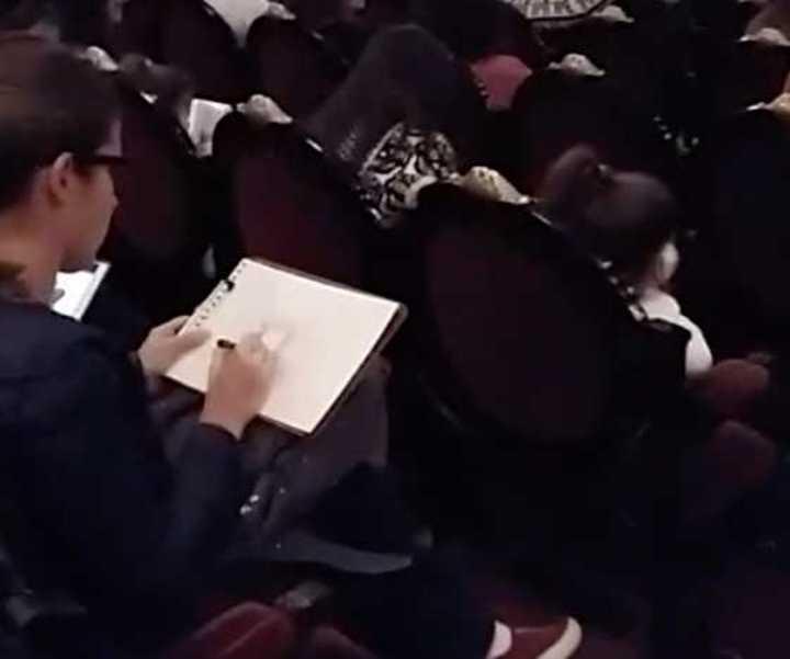 Encuentro de dibujantes en el Teatro Colón