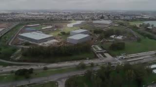 El Parque Olímpico visto desde un drone