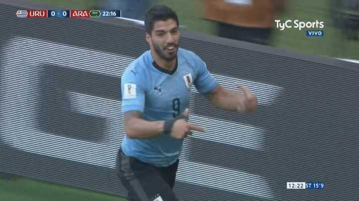 ¿Qué quiso decir Luis Suárez en su festejo? - Mundial Rusia 2018