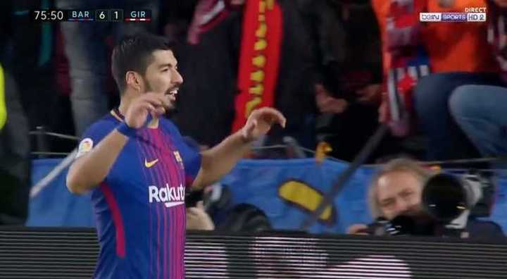 Barcelona 6- Girona 1