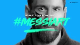 La campaña solidaria de Messi contra el cáncer infantil.