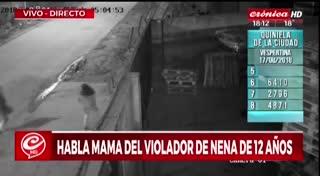 Habló la madre del violador de Marcos Paz