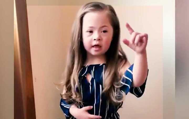 El mensaje de una nena con síndrome de down que se viralizó