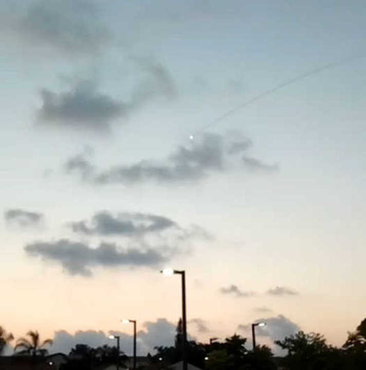 Cohete sobre Sderot