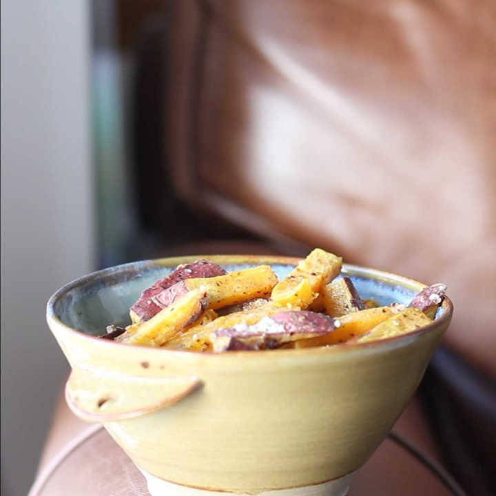 Receta de batatas horneadas