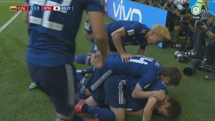 Colombia 0 - Japón 1