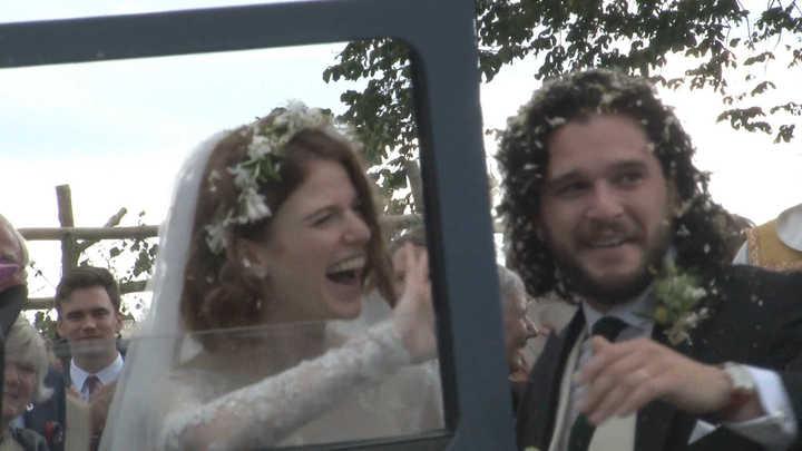 Game of Thrones: 'Jon Snow' se casó con una excompañera del elenco