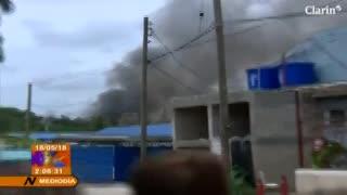 Al menos 110 muertos en el avión que se estrelló en La Havana