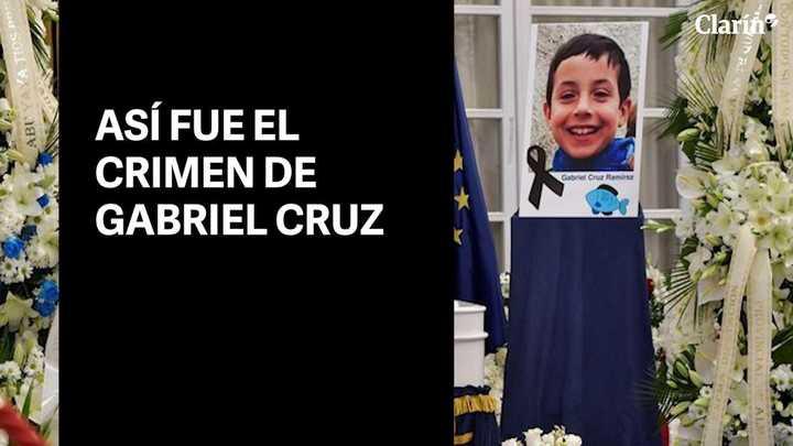 Así fue el crimen de Gabriel Cruz
