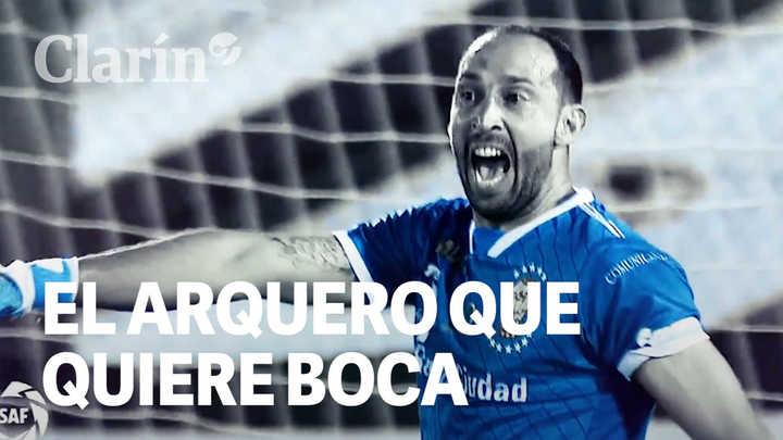 Así ataja Marcos Díaz, el arquero que quiere Boca
