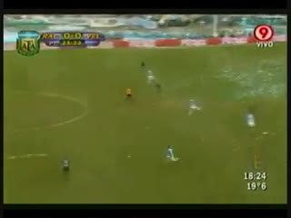 El gol del Burrito Martínez frente a Racing en 2010. (YouTube)