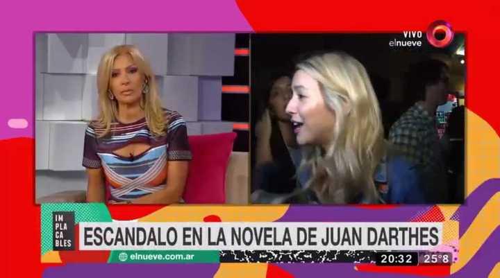 Susana Roccasalvo, durísima con Flor Vigna
