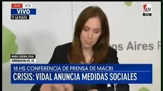 Maria Eugenia Vidal: le pidió la renuncia a la contadora