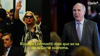 "Elisa Carrió sobre Ricardo Lorenzetti: ""Se tenía que ir... Lilita opera, chau"""