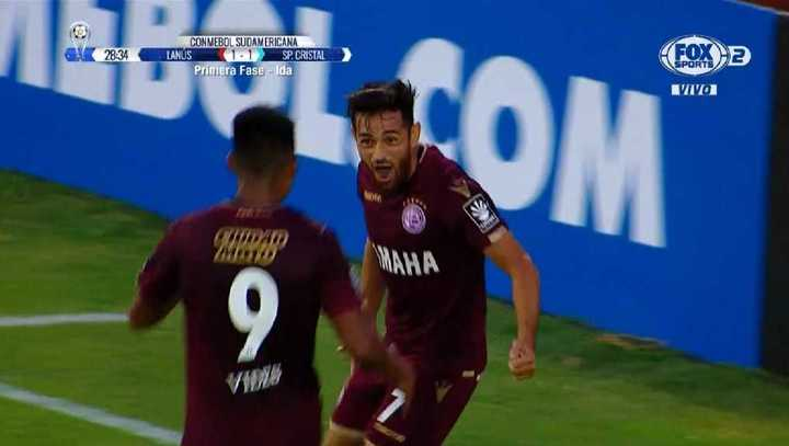 Lanús 2 - Sporting Cristal 1
