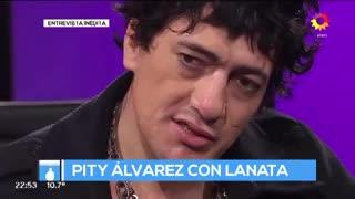 """Entrevista inédita de Lanata a Pity Álvarez (Parte 3): """"Capaz que somos la suela del zapato de un gigante"""""""