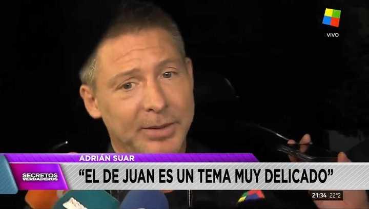 Adrián Suar, sobre las denuncias a Juan Darthés