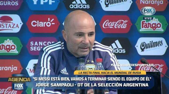 ¿La Selección de Messi o de Sampaoli?