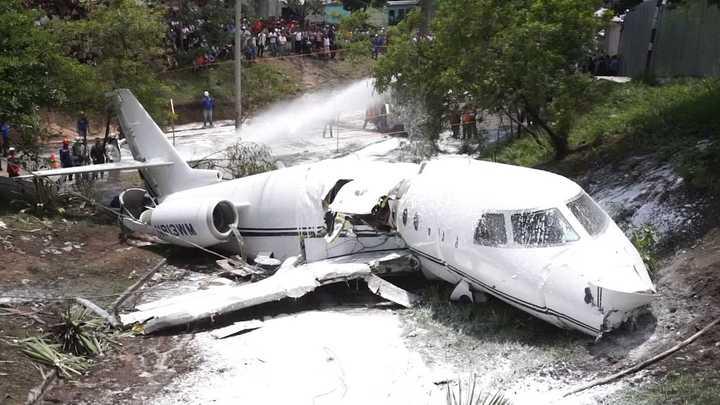 Seis estadounidenses heridos en accidente de avión en Honduras