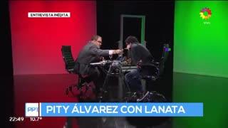 """Entrevista inédita de Lanata a Pity Álvarez (Parte 2): """"No quiero estar 20 años más acá"""""""
