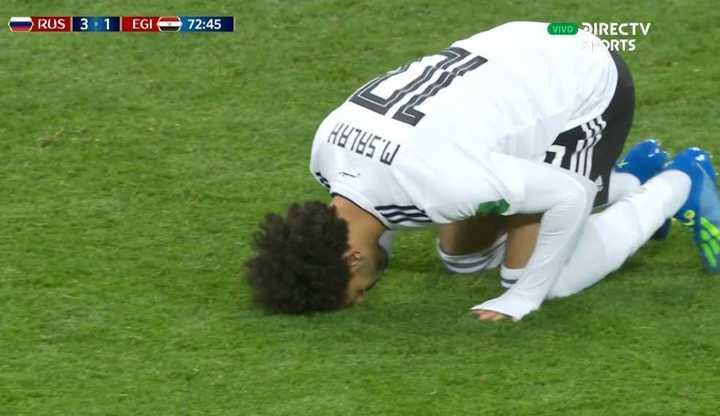 Rusia 3 - Egipto 0. Salah, de penal, descontó para Egipto - Mundial Rusia 2018