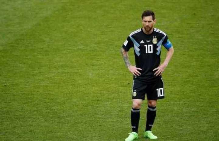 Messi lamentó el penal errado